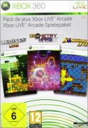Pack Xbox Live Arcade (Geometry Wars: Retro Evolved 2 + Lumines Lives + Bomberman Live)