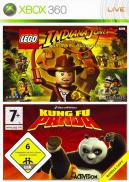 LEGO Indiana Jones : The Original Adventures / Kung Fu Panda (Pack 2 jeux)