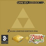 Game Boy Advance SP The Legend of Zelda : The Minish Cap - Pack Edition Limitée (Jeu + Console)