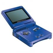 Game Boy Advance SP Bleu Métal