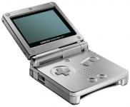 Game Boy Advance SP Argent