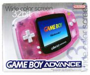 Game Boy Advance Rose Fushia