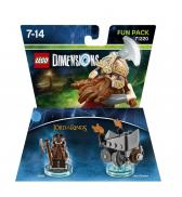 LEGO Dimensions - Gimli ~ The Lord of the Rings Fun Pack (71220)