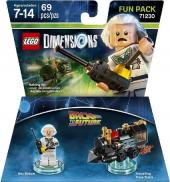 LEGO Dimensions - Doc Brown ~ Back to the Future Fun Pack (71230)