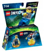 LEGO Dimensions - Chase McCain ~ LEGO City Undercover Fun Pack (71266)