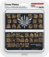 Coque Monster Hunter Ultimate pour New 3DS - Noire