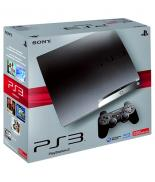 PS3 Slim 250 Go (Charcoal Black)