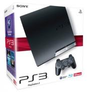 PS3 Slim 120 Go (Charcoal Black)