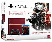 PS4 500 Go - Metal Gear Solid V Limited Edition + Metal Gear Solid V: The Phantom Pain - Edition Day One