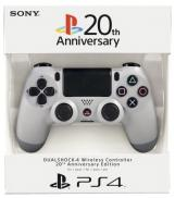 SONY PS4 Wireless Controller DualShock 4 Original Grey - 20th Anniversary Edition