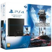 PS4 1To - Pack Star Wars: Battlefront (Jet Black)