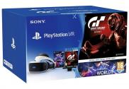 Sony PS4 PlayStation VR - Casque VR + Camera V2 + Gran Turismo Sport + VR Worlds