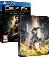 Deus Ex: Mankind Divided - Edition Day One Version Steelbook exclusif