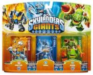Skylanders: Giants (Triple Pack) Ignitor S2 + Chill S1 + Zook S2