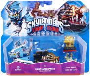 Skylanders: Trap Team (Adventure Pack) Nightmare Express + Blades S1 + Piggy Bank + Hand of Fate