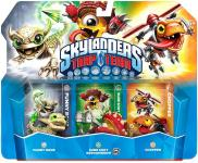 Skylanders: Trap Team (Triple Pack) Funny Bone S1 + Sure Shot Shroomboom S2 + Chopper S1