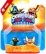 Skylanders: Trap Team (Minis Pack) Drobit + Trigger Snappy