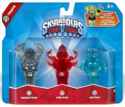 Skylanders: Trap Team (Traps Pack) Undead Skull + Fire Torch + Air Jughead