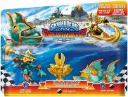 Skylanders: SuperChargers (Sea Racing Action Pack) Deep Dive Gill Grunt S5 + Sea Trophy + Reef Ripper
