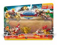 Skylanders: SuperChargers (Land Racing Action Pack) Double Dare Trigger Happy S5 + Land Trophy + Gold Rusher