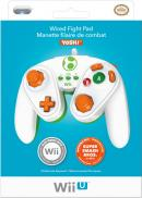 Wii U Wired Fight Pad Manette filaire de combat - Yoshi (PDP)