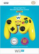 Wii U Wired Fight Pad Manette filaire de combat - Wario (PDP)