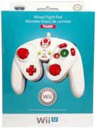 Wii U Wired Fight Pad Manette filaire de combat - Toad (PDP)