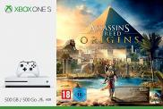 Xbox One S 500 Go - Pack Assassin's Creed Origins (blanche)